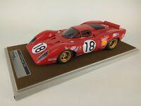 Tecnomodel Ferrari 312P Coupe #18 Rodriguez/Piper Le Mans 1969 1/18