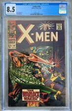 X-Men #30 (1967) CGC 8.5 -- O/w to white pgs; Roy Thomas; Jack Kirby cover