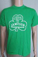 Vintage 80s Celebrate St Patricks Day with Jameson Whiskey soft green t shirt M