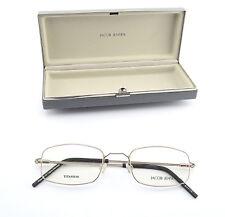 JACOB JENSEN Titanium Brille Mod. 501 C40 Square Frame Denmark Gold + Case NEW