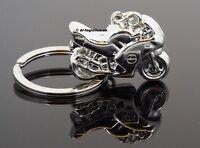 Superbike Motorbike Scooter Motorcycle Sport Bike Scrambler Key Ring UK