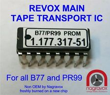 CONTROLLER  IC for ALL Revox  B77 and PR99 (includes new socket)