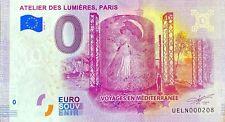 BILLET 0  EURO  ATELIER DES LUMIERES PARIS FRANCE 2020 NUMERO DIVERS