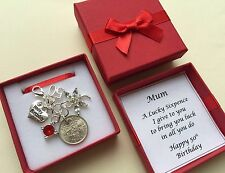 LUCKY SIXPENCE CHARM, 50th, BIRTHDAY GIFT, PERSONALISED, 1967 coin