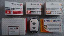 MINI DIGITAL MARANTEC 572 fm 868.3 MHz 101115 CH.2 7216 HANDSENDER TRANSMITTER