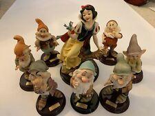 Giuseppe Armani - Snow White and the Seven Dwarfs- Complete Set - Mint