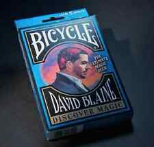 David Blaine Discover Bicycle Deck - 5 Magic tricks - Playing Cards gaff Easy