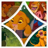 Disney Collect Topps Digital The Lion King - Songs Of Die-Cuts w/award