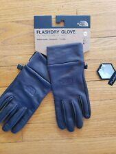 The North Face Flashdry Gloves Asphalt Gray X-Large Xl Men Women Unisex New Nwt