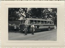 PHOTO ANCIENNE - VINTAGE SNAPSHOT - AUTOBUS AUTOCAR BUS BERLIET TRANSPORT