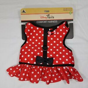 Disney Parks Tails Minnie Mouse Costume Harness for Dog M Medium New