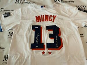 PSA/DNA Authentic Max Muncy Autograph National League Jersey w/ 2021 NL All-Star