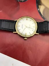 Omega Seamaster De Ville Automatic 18k Solid Yellow gold Mens Vintage