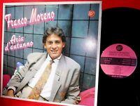 FRANCO MORENO Aria d'autunno LP 1990 ITALY MINT-  Neomelodici