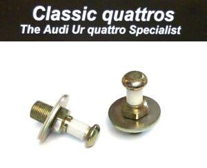 2  DOOR STRIKE PINS AUDI UR QUATTRO TURBO COUPE/COUPE/QUATTRO/80/90/100/200 & VW