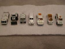 Matchbox HESS truck, van, golf cart, Volks TOTAL OF SEVEN MINIATURES CODE 2?
