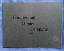 circa 1905 Booklet CUMBERLAND COPPER COMPANY CAPITAL STOCK Nova Scotia