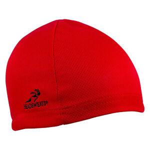 Headsweats Eventure Skullcap Hat: One Size Red