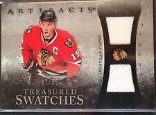 Jonathan Toews 2010-11 Artifacts Dual Jersey Chicago Blackhawks /50