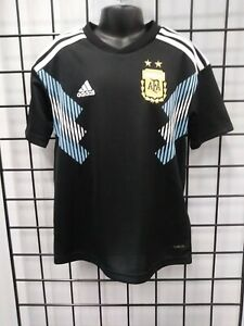 adidas 2018 WORLD CUP ARGENTINA YOUTH AWAY JERSEY (BQ9341) SIZE YL