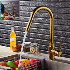 Or poli retirer Pulvérisateur robinet cuisine bec pivotant lavabo évier mitigeur