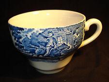 England Liberty Blue by Staffordshire Paul Revere Blue White Mug Cup