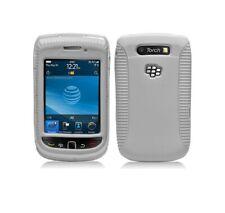 White Hybrid Hard Case Cover for Blackberry Torch 9800 9810