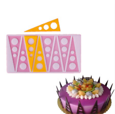 Silicone Triangular Circle Cake Mold Baking Tool Decor Cake Chocolates DIY Mould