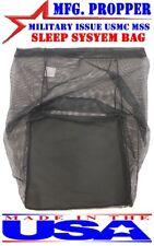 NEW MILITARY USMC Mesh sleeping bag Storage MSS Propper 3 Season Sleep System