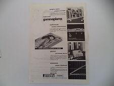 advertising Pubblicità 1955 MATERASSO GOMMAPIUMA PIRELLI
