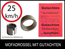 Mofadrossel Piaggio NRG MC3 AC 50 45kmh Typ: C21  FIN: ZAPC21 Mofa Drossel Satz