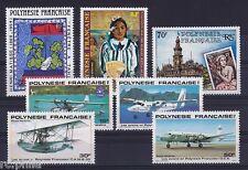 RC002882 POLYNESIE PA n° 153 / 159 - ANNEE 1980 COMPLETE MNH NEUF **