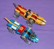 vintage VOLTRON BLUE & YELLOW LION LOT diecast made in Japan