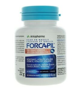 Arkopharma FORCAPIL FORTIFIANT KERATIN+ Hair Vitality Volume 1 to 3 Month Supply