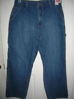 new  MEN BLUE JEANS pants WAIST 36,38 x 30,32 INSEAM  Mens CARPENTER denim