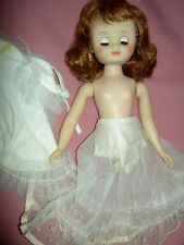 """14"""" American Character, 1958 Betsy McCall doll & clothing, needs straight legs"""