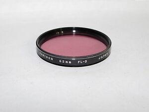 Used Samigon FL-D 52mm Lens Filter Made in Japan O40843