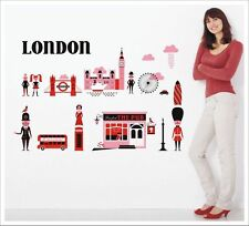 Kids Removable Vinyl Wall Stickers -- City of London SA-12-057