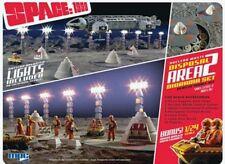 Espacio 1999 nuclear Waste Área 2 maqueta set con / bono Luna Buggy 1/48 MPC