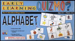 Learning Advantage QUIZMO Early Learning ALPHABET educational BINGO game *SEALED