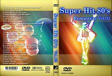 Super Hits 80's Remasters Vol. 2 32 Music Videos DVD