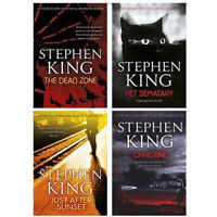 Stephen King Fiction Collection 4 Books Set Just After Sunset Pet Sematary NEW