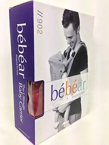Brand New Genuine BeBear Baby Carrier Model 902 Red Sling Backpack Carrier