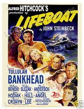 LIFEBOAT LOBBY CARD POSTER OS 1944 TULLULAH BANKHEAD WILLIAM BENDIX