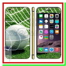 Stickers Back Front Cover Adesiva Fronte Retro Football  x Apple Iphone 6
