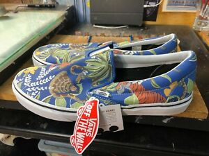 Vans Classic Slip On Disney The Jungle Book Size US 11.5 Men New Rare