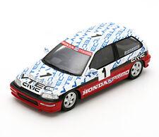 1:43 Spark Honda Civic EF9 1990 Group N Suzuka Circuit Test A. Senna S5460