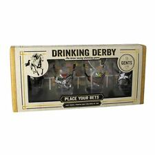 Funky Novelty Drinking Derby Shot Glass Set Drinking Game - Gift Boxed Paladone
