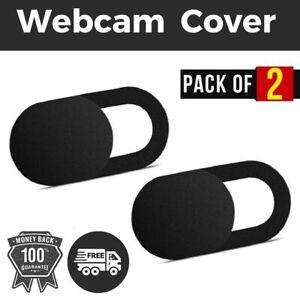Webcam Cover Camera Laptop Phone Privacy Protect Slide Security Sticker 2PCS