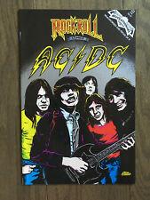 ROCK N ROLL COMICS # 22 AC/DC VF- 1ST PRINT REVOLUTIONARY COMICS 1991